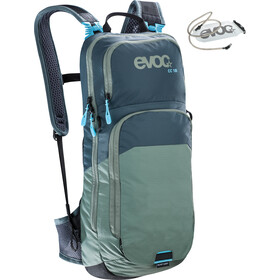 EVOC CC Lite Performance Backpack 10l + Bladder 2l, slate-olive